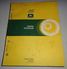 John Deere 8440 Tractor Parts Catalog Manual Book Jd Pc1634