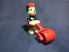 Vintage MINNIE MOUSE Hand Painted RAMP WALKER with Lawn Roller
