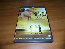 Million Dollar Arm (DVD, Widescreen 2014) Used Disney Bill Paxton Used
