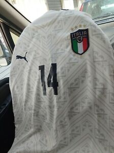 Chiesa Italia Maglia ufficiale Euro 2020 con patch e cartellino ufficiale Puma