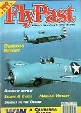 Flypast 1995 October Airspeed,RAF Marham,Canberra,Yak-11,Wildcat,Cessna L-19