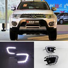 For Mitsubishi Pajero Sport 2013 ~ 2015 DRL LED Daytime Running Light
