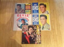 Job Lot Of 5x Elvis Presley LPs.