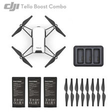 DJI RYZE Tello Boost Combo Camera Drone with 3 Batteries Charger Charging Hub