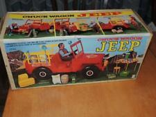 "Vintage 1970s Empire Toys Chuck Wagon Jeep fits Big Jim or 12"" GI Joe in box"
