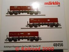 Märklin 46912 alto bordo carrello-Set FAS traccia h0