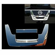 For 2005-2012 NISSAN FRONTIER Triple Chrome Tailgate Handle COVER Overlay Trim