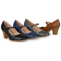 Journee Collection Womens Mary Jane Classic Pumps New