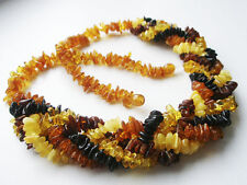 5 - LINE REAL BALTIC AMBER LADIES NECKLACE
