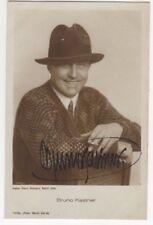 Actor Bruno Kastner Vintage RPPC Postcard Autographed US100