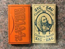 Vintage Zig Zag And Rizla Rolling Papers. Very Rare.