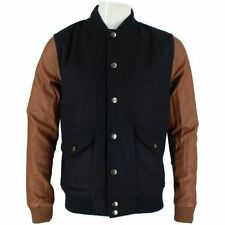 Cappotti e giacche da uomo in lana blu
