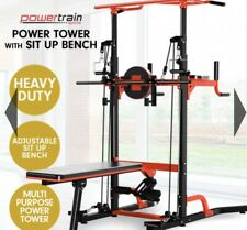 HOME GYM WORKOUT BENCH - MULTI STATION - CHIN UP - LOCKDOWN PRESALE RRP $699