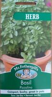 Mr Fothergill's - Herb - Basil Piccolino 300 Seeds