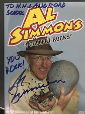 """I Collect Rocks"" Al Simmons, DVD, 2005, Signed, Six Madcap Music Videos"