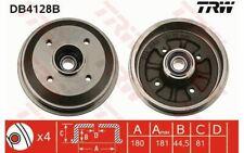 2x TRW Tambour de frein Arrière pour PEUGEOT 309 306 CITROEN XSARA ZX DB4128B