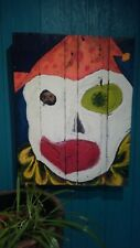 Original Clown Oil Painting **American Horror Story AHS: Cult Inspired**Abstract