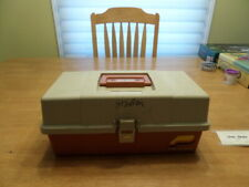 Plano Molding Co. Tackle Box 2-Tray Fishing Bait Store and Carry #5520, Vintage