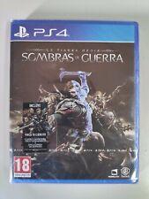 La Tierra Media Sombras de Guerra - PS4 - Nuevo - Wakkap