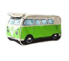 Original VW Bulli Kulturtasche in grün/weiß
