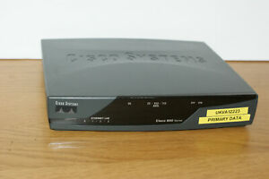 CISCO 877 10/100 877 ADSL Integrated Services Router 4 port switch + PWR ADPTER