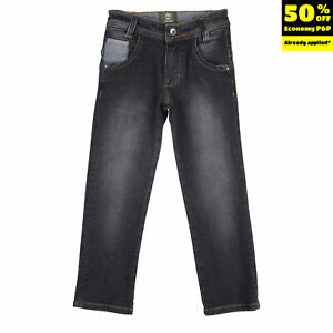 RRP €105 TIMBERLAND Slim Jeans Size 4Y / 102CM Stretch Faded Adjustable Waist