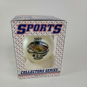 GREEN BAY PACKERS Lambeau Field 50 Years CHRISTMAS ORNAMENT double sided
