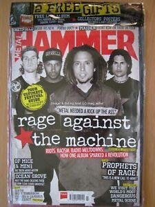Metal Hammer July 2017 Rage Against The Machine Of Mice & Men Ocean Grove & CD