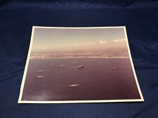 Stunning Original Vintage Photo At A US Naval Fleet 8x10 Kodak Paper Y4