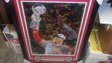 Patrick Mahomes Kansas City Chiefs Signed 16x20 framed Superbowl photo FANATICS