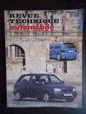 Revue technique automobile n°572 04/1995 Nissan Micra depuis 1993