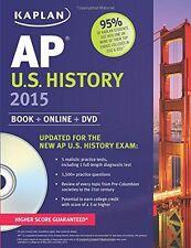 Kaplan AP U.S. History 2015: Book + Online + DVD (Kaplan Test Prep) by Krista Do