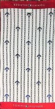 "NEW TOMMY HILFIGER WHITE+BLUE ANCHOR CHAIN,RED,100% COTTON BEACH TOWEL 35""x 66"""
