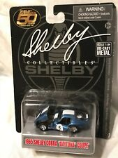 "New ListingShelby Collectibles ~ 1965 Shelby Cobra ""Daytona"" Coupe #5 ~ 1:64 ~ Rare Vhtf"