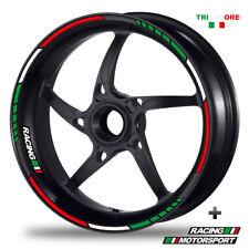 FELGENRANDAUFKLEBER GP Tricolore Style Felgenaufkleber Italia Italy  Italien M1