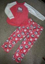 db75d7faf8 HELLO KITTY Soft Fleece Pajamas Large Ladies Size 12-14