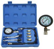 8PCS Auto Motorcycle Petrol Engine Cylinder Compression Tester Gauge-BLUE