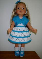 HAND Knitted Vestiti per bambole American Girl/designafriend e bambole simalar