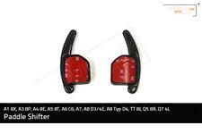 Paddle Shifters Carbonlook für A1 8X, A3 8P, A4 B6 & B7, A5 8T, A6 C6, A7, A8  .