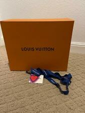New Auth Louis Vuitton Empty Purse Shoe Jacket Gift Box Ribbon Limted Ed Card