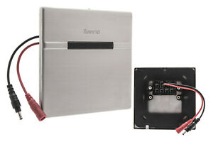 Urinal Spülventil mit Sensor / 220 V & LR 6 Batterie, Edelstahl gebürstet