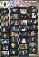 sticker promo Black Butler Kuroshitsuji anime Sebastian Ciel Claude Alois Grell
