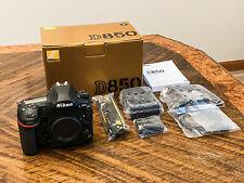 Nikon D850 45.7 MP Digital Camera w/ 35mm, 85mm Sigma Lenses, Flash, & Tripod