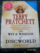 Stephen Briggs - Terry Pratchett The Wit & Wisdom Of Discworld Paperback Book
