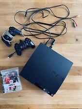 Sony Playstation 3 Slim 120GB PS 3 mit Spiel Fifa 10 & 2 Contoller