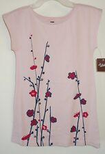 NWT Tea Collection Peach Blush Sakura Graphic Dress ~ Girl's Size 4