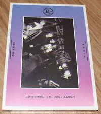 BOYFRIEND NEVER END 5TH MINI ALBUM NIGHT Ver. CD + PHOTOCARD + FOLDED POSTER NEW