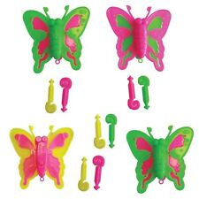 4pk Butterfly Launchers Favours Insect Childrens Party Gift Loot