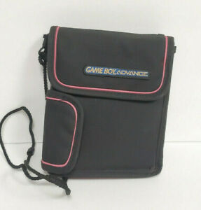 Official GAMEBOY ADVANCE Carrying Case Nintendo Travel Bag Pink Vintage Rare
