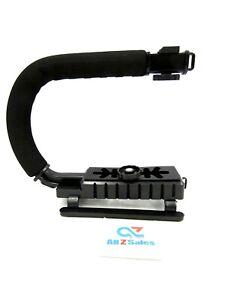Handheld  Video Camera Stabilizer U Shape Rig Handle Grip Cold Shoe Steady Shot